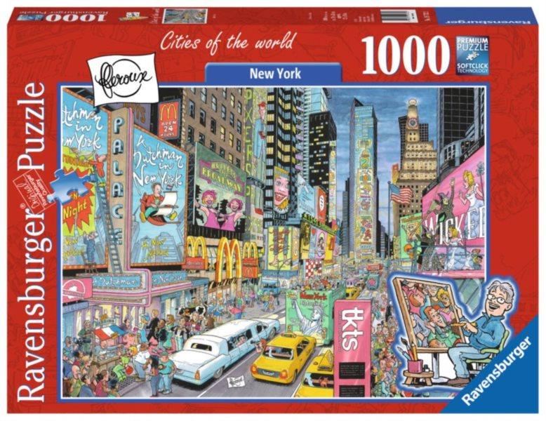 RAVENSBURGER Puzzle New York, USA 1000 dílků