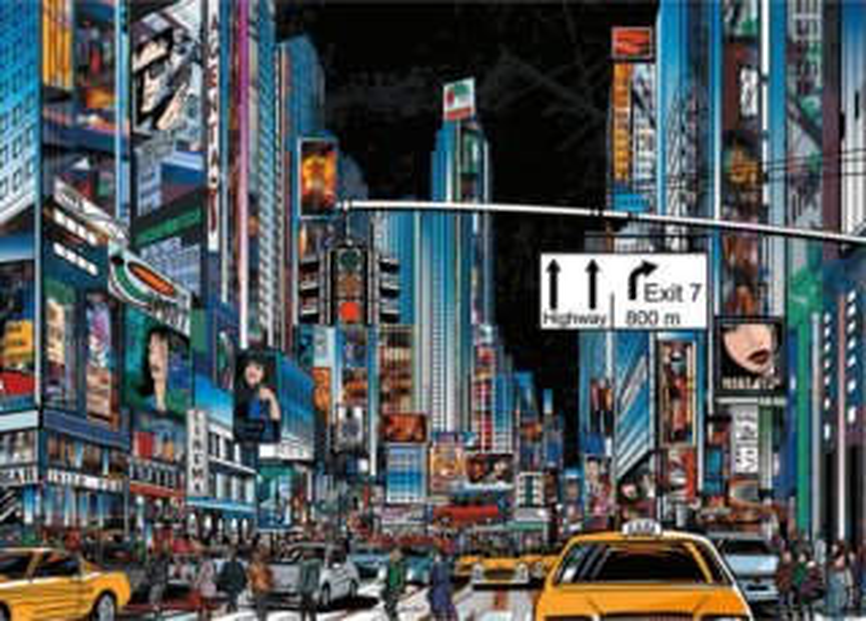 DINO Puzzle New York, USA 3000 dílků