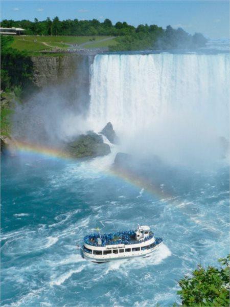 CLEMENTONI Puzzle Niagarské vodopády 500 dílků