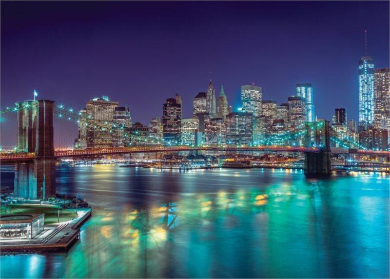 CLEMENTONI Puzzle Noční New York 3000 dílků