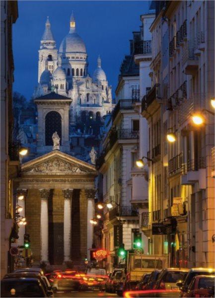 Puzzle KING 05371 Noční Paříž 1000 dílků