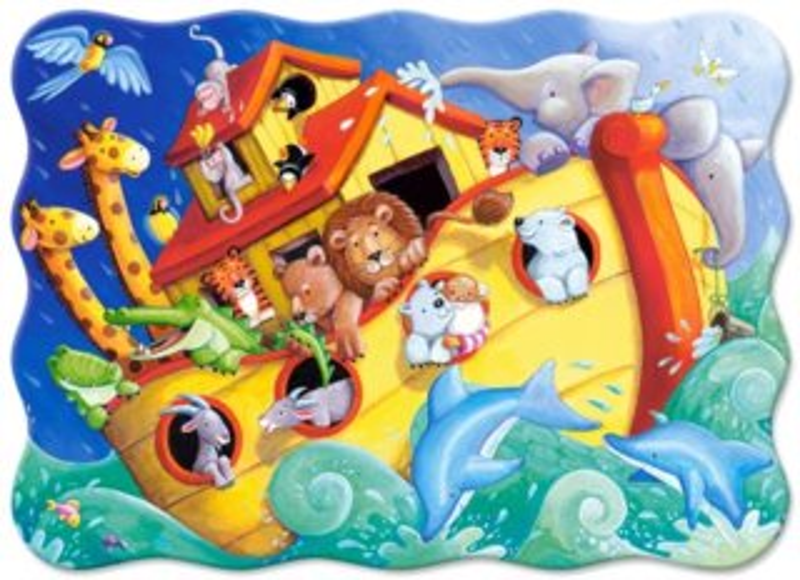 CASTORLAND Puzzle Noemova archa 30 dílků