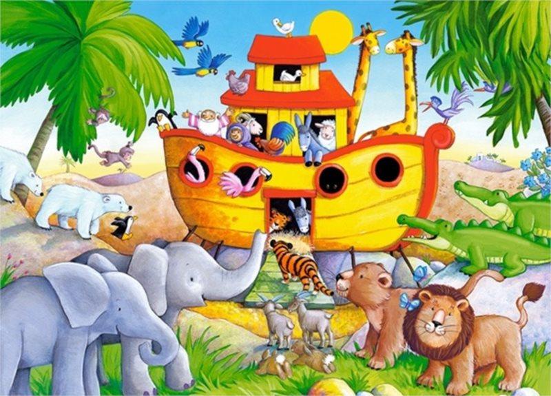 CASTORLAND Puzzle Noemova archa 60 dílků