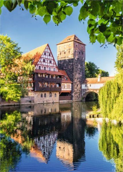Puzzle RAVENSBURGER 1000 dílků - Norimberk