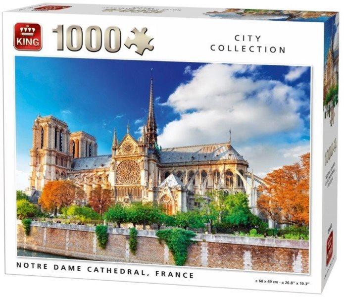 KING Puzzle Notre Dame 1000 dílků