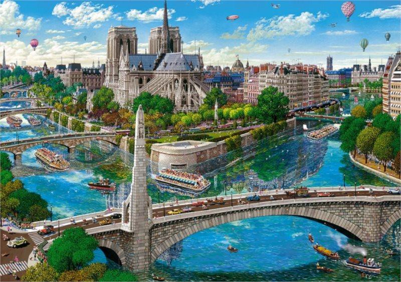 CASTORLAND Puzzle Notre Dame, Paříž 500 dílků