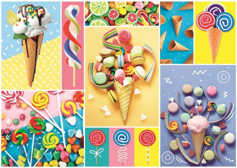 TREFL Puzzle Oblíbené sladkosti 500 dílků