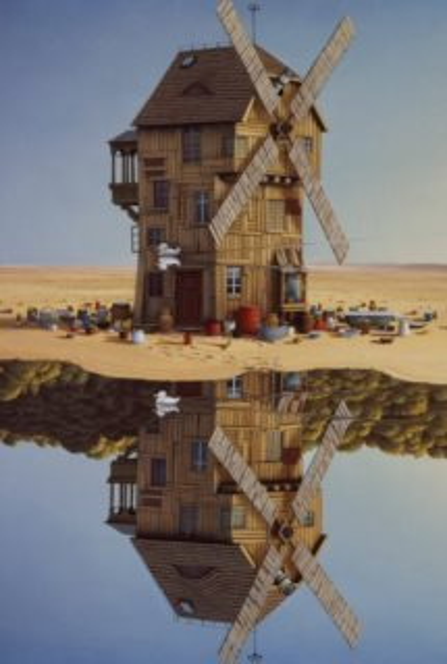 Puzzle SCHMIDT 500 dílků - J. Yerka: Odrazy