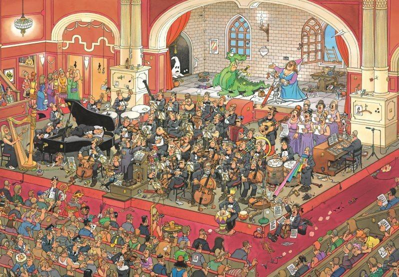JUMBO Puzzle Opera Sv.Jiří a drak 2000 dílků