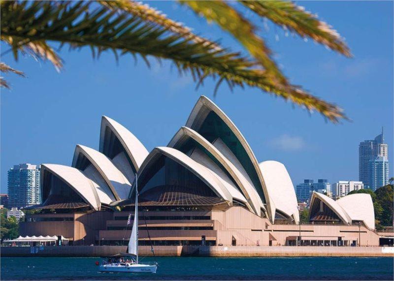 Puzzle DINO 1000 dílků - Opera v Sydney, Austrálie