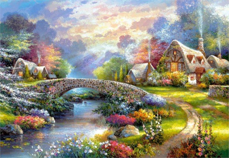 CASTORLAND Puzzle Oslava jara 1000 dílků