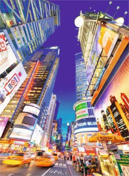 RAVENSBURGER Puzzle Osvětlené Times Square 500 dílků