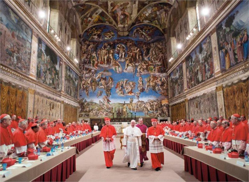 Puzzle CLEMENTONI 1500 dílků - Papež František