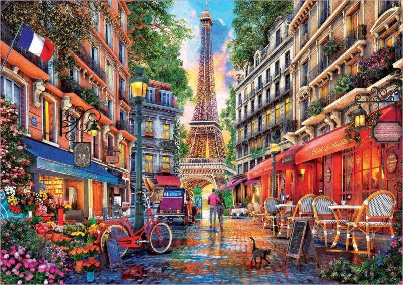 EDUCA Puzzle Paříž 1000 dílků