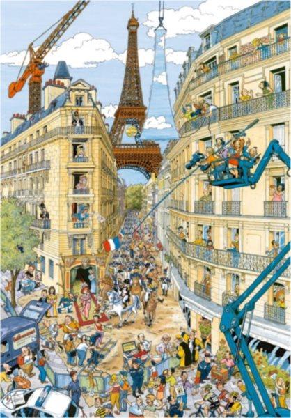 Puzzle RAVENSBURGER 19503 Paříž 1000 dílků