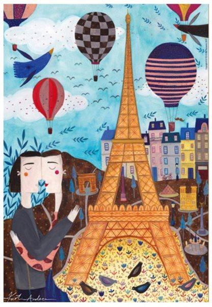 D-TOYS Puzzle Paříž 1000 dílků