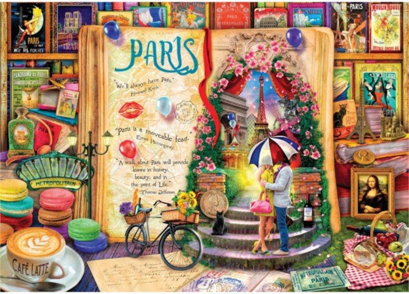 ART PUZZLE Puzzle Paříž 1000 dílků