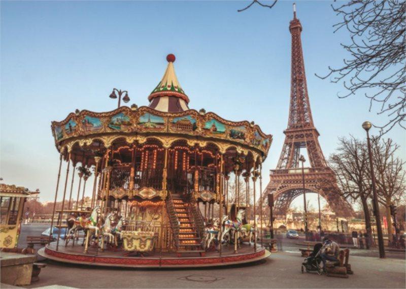 JUMBO Puzzle Paříž, Francie 1000 dílků