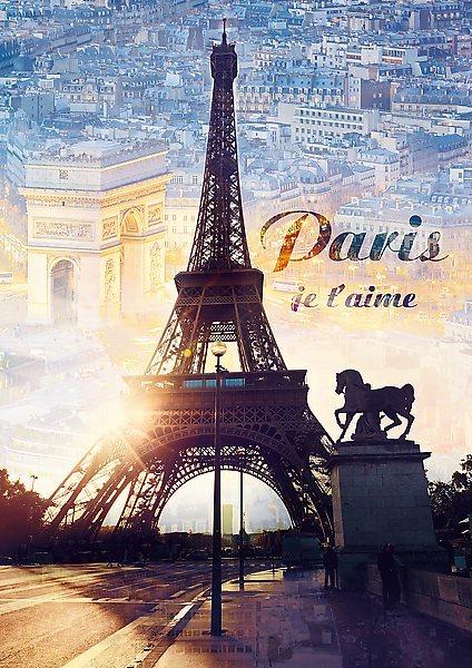 TREFL Puzzle Paříž za úsvitu 1000 dílků