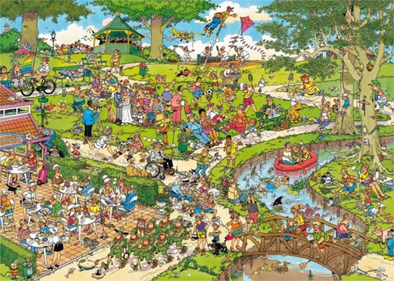 JUMBO Puzzle Park 1000 dílků