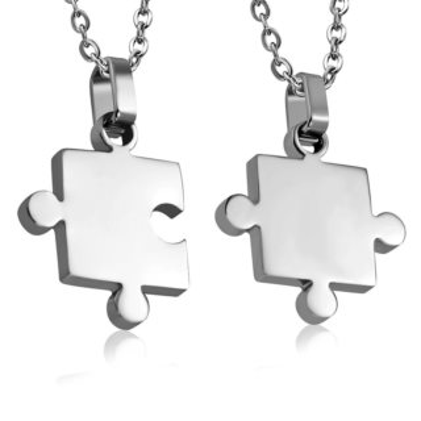 Puzzle partnerské přívěšky