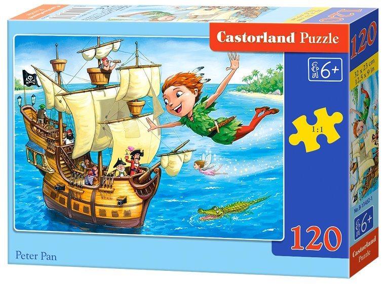 CASTORLAND Puzzle Petr Pan 120 dílků