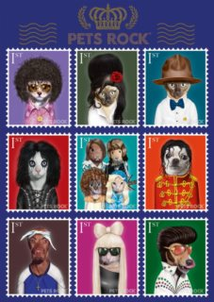 Puzzle SCHMIDT 1000 dílků - Pets Rock - Hudba