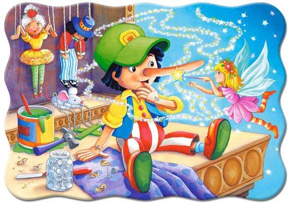 Puzzle CASTORLAND 03662 Pinokio 30 dílků