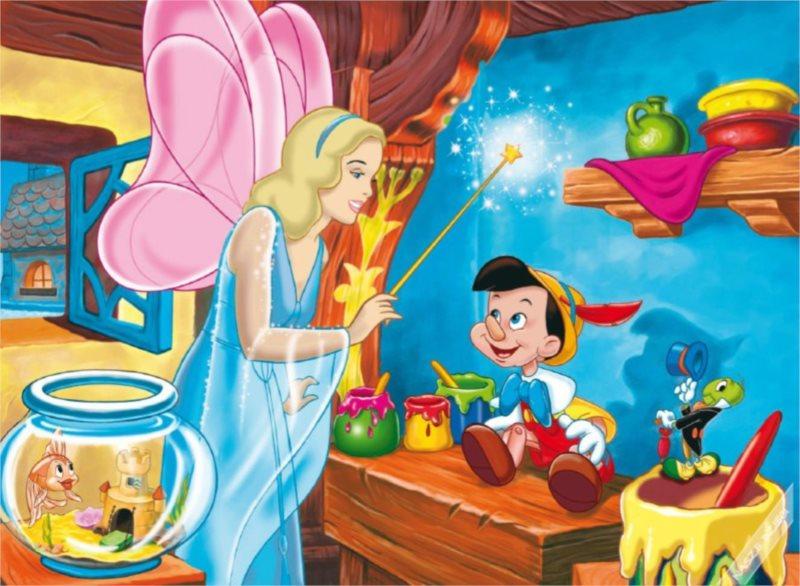 Dětské MAXI puzzle - Pinokio 104 dílků