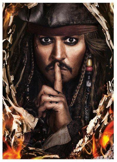 Puzzle DINO 1000 dílků - Piráti z Karibiku: Salazarova pomsta