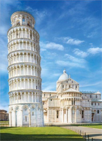 CLEMENTONI Puzzle Pisa, Itálie 1000 dílků
