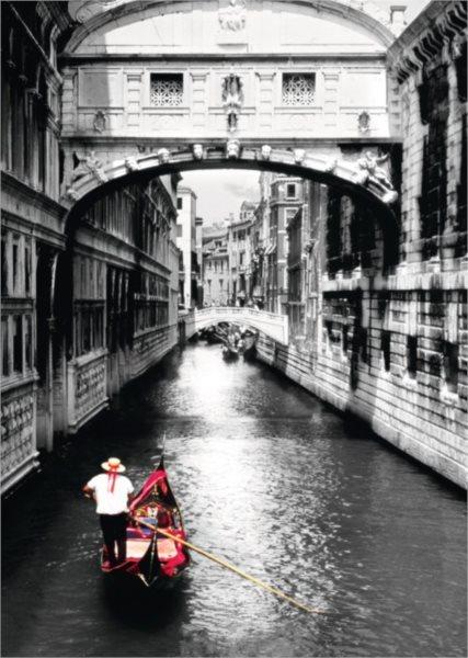 Puzzle RAVENSBURGER 1000 dílků - Plavba po Canal Grande