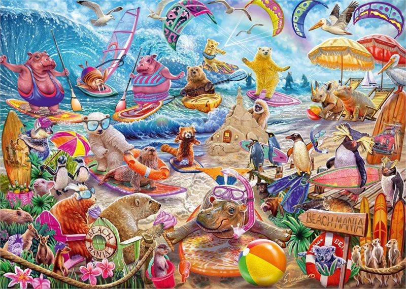 SCHMIDT Puzzle Plážová mánie 1000 dílků