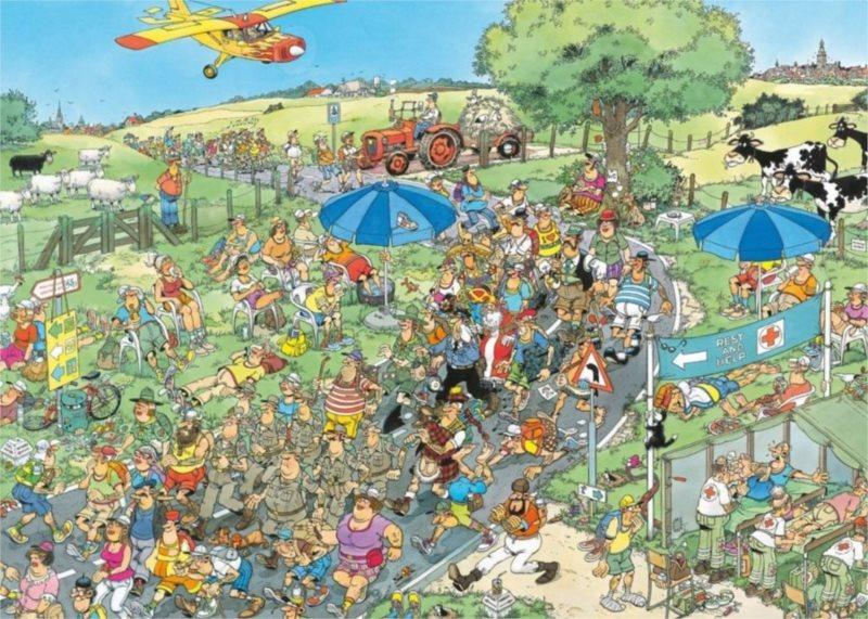 JUMBO Puzzle Pochod 2000 dílků