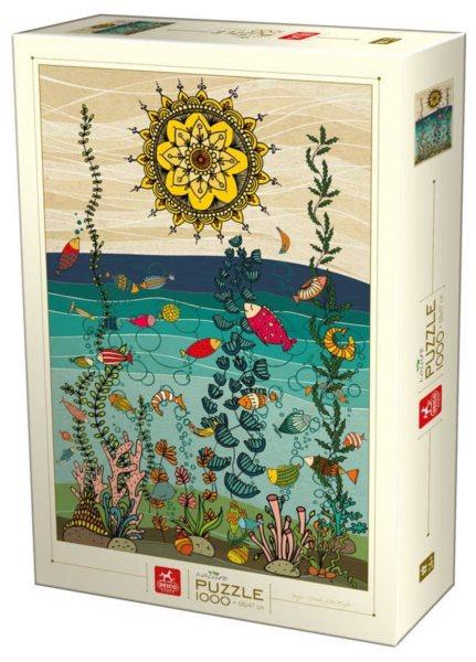 DEICO Puzzle Pod vodou 1000 dílků