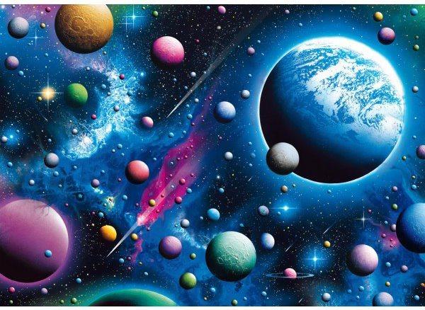Puzzle SCHMIDT 58290 Podmanivý vesmír 2000 dílků