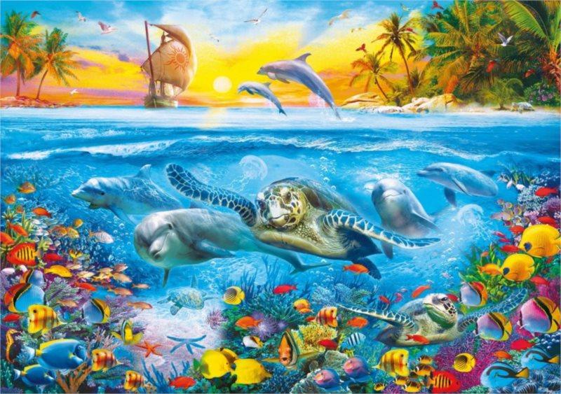 CLEMENTONI Puzzle Podvodní svět 6000 dílků