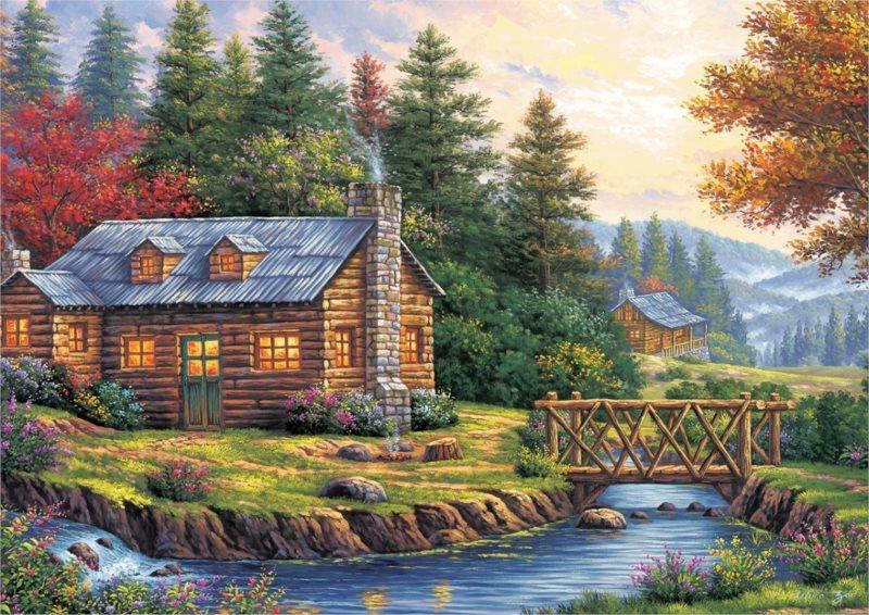 ART PUZZLE Puzzle Podzim 260 dílků