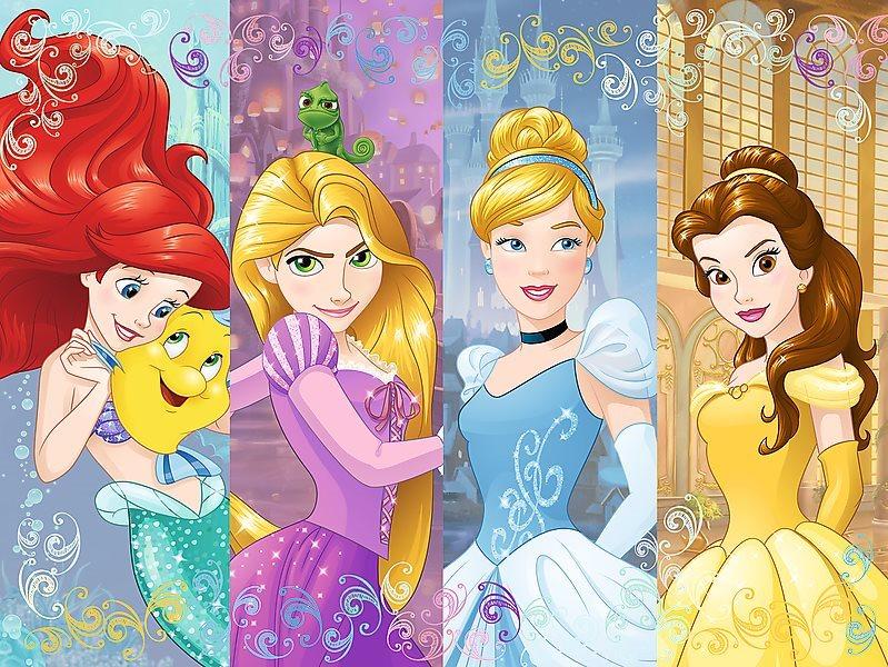 TREFL Puzzle Pohádkové Disney princezny 30 dílků