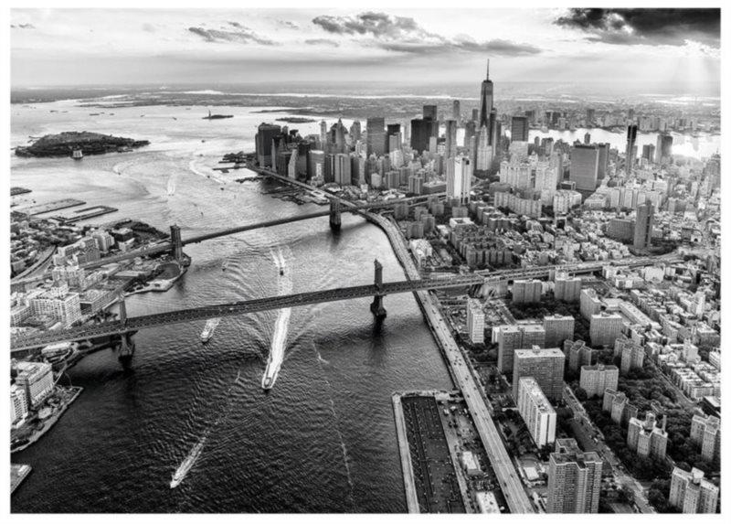DINO Puzzle Pohled na Manhattan, New York 1000 dílků