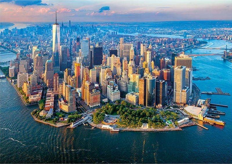 Puzzle DINO 1500 dílků - Pohled na New York