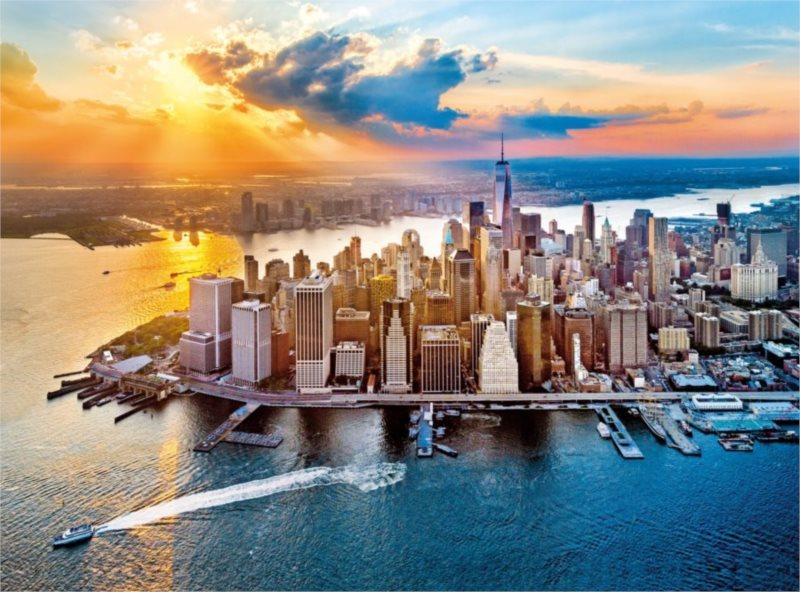 CLEMENTONI Puzzle Pohled New York 500 dílků