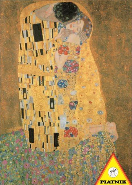 Puzzle PIATNIK 1000 dílků - Gustav Klimt: Polibek