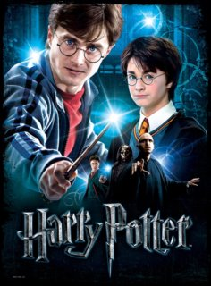 Puzzle Poster WREBBIT 500 dílků - Harry Potter