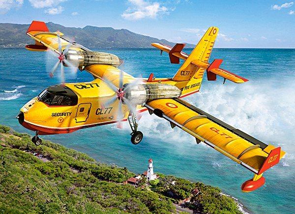 CASTORLAND Puzzle Požární letadlo 300 dílků