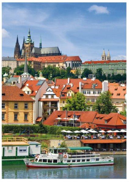 DINO Puzzle Pražský hrad 1000 dílků
