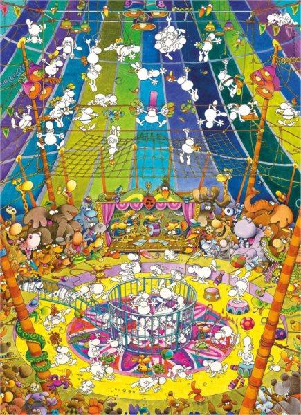 CLEMENTONI Puzzle Představení 1000 dílků