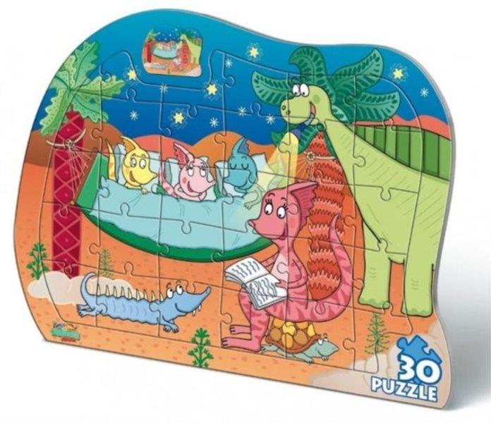 BONAPARTE Puzzle Prehistoric Junior 30 dílků
