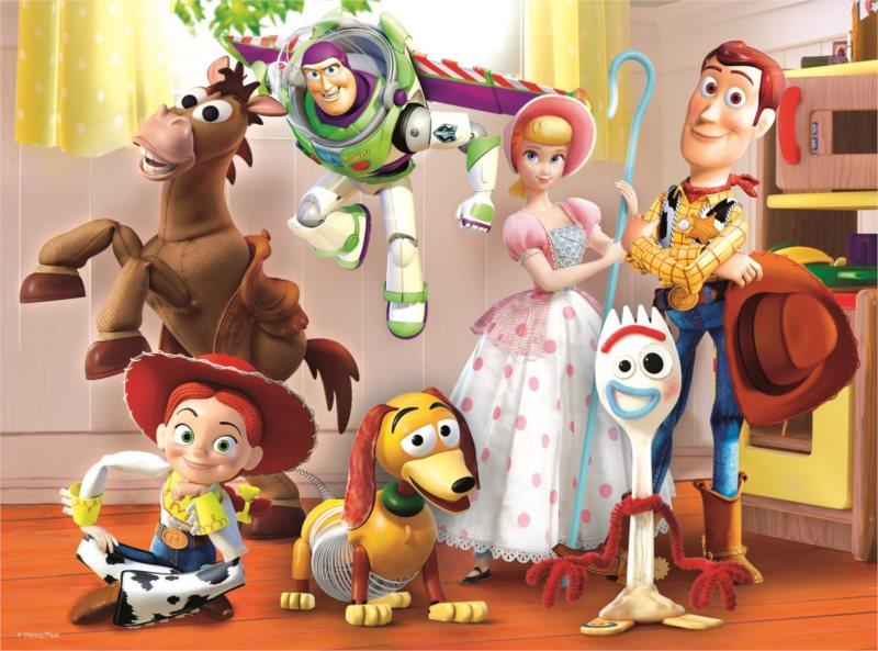 TREFL Puzzle Toy Story 4: Příběh hraček 30 dílků