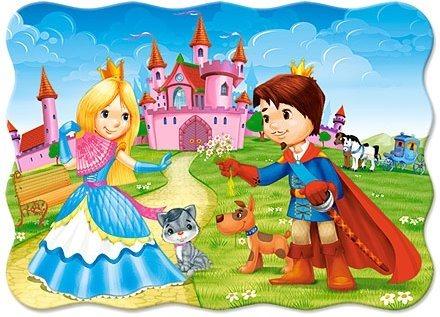 CASTORLAND puzzle Princ s princeznou 30 dílků